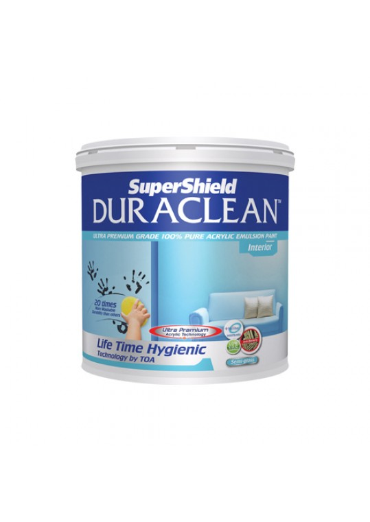 ซุปเปอร์ชิลด์ ดูราคลีน สีน้ำอะคริลิกชนิดกึ่งเงา