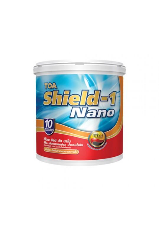 ทีโอเอ ชิลด์ วัน นาโน  สีน้ำอะคริลิกชนิดด้าน สำหรับภายนอกและภายใน