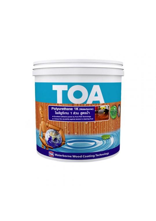 ทีโอเอ โพลียูรีเทน 1 ส่วน สูตรน้ำ ชนิดเงา สำหรับภายใน