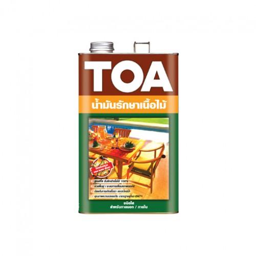 ทีโอเอ ทีค ออยล์ น้ำมันรักษาเนื้อไม้ชนิดใส