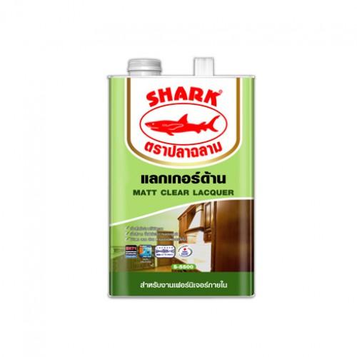 แล็กเกอร์ ชนิดด้าน ตราปลาฉลาม S-5500