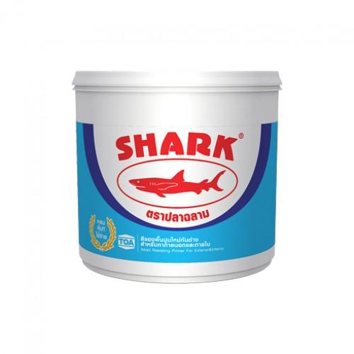 ปลาฉลาม สีรองพื้นปูนใหม่กันด่าง สำหรับทาภายนอกและภายใน